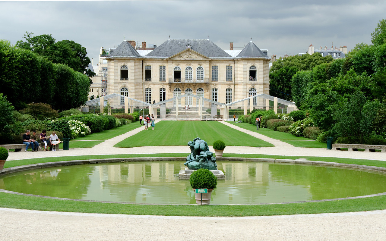 Musee de Rodin<br /> <br /> From the gardens -- some collection of Rodin!<br /> <br /> Paris, France