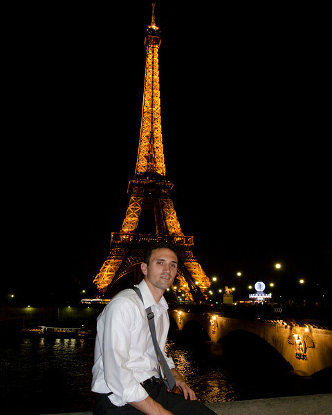 Dan and Eiffel Tower
