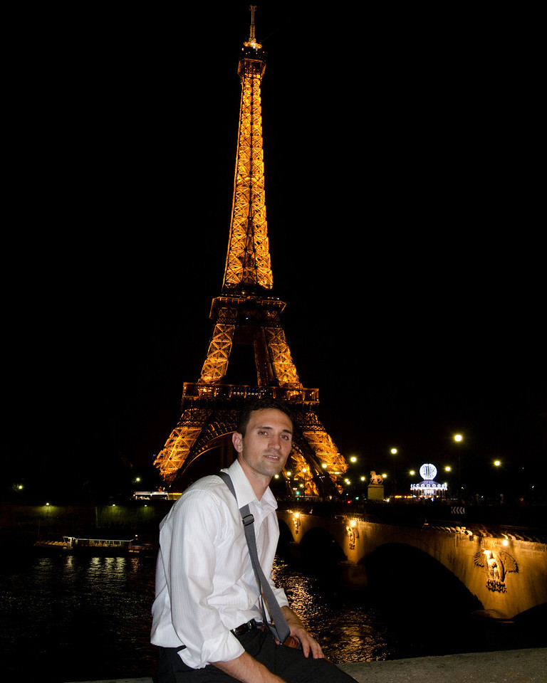 Dan and Eiffel Tower