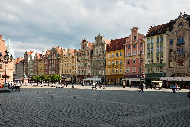 Wrocław main square