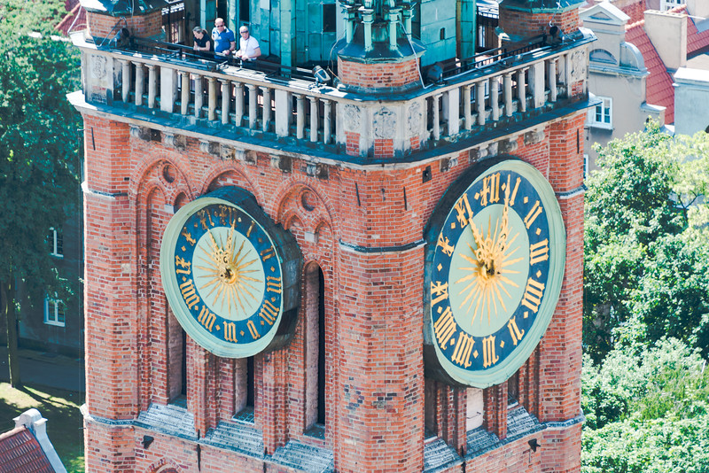 Clock Tower, Mariacka, Gdańsk