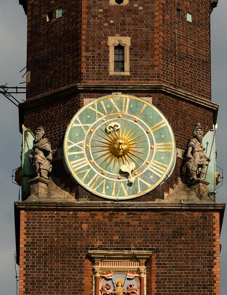 Clock tower, Wrocław