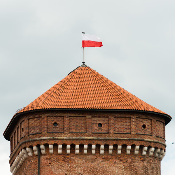 Polish Flag, Wawel