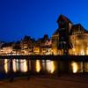Night view, Gdańsk