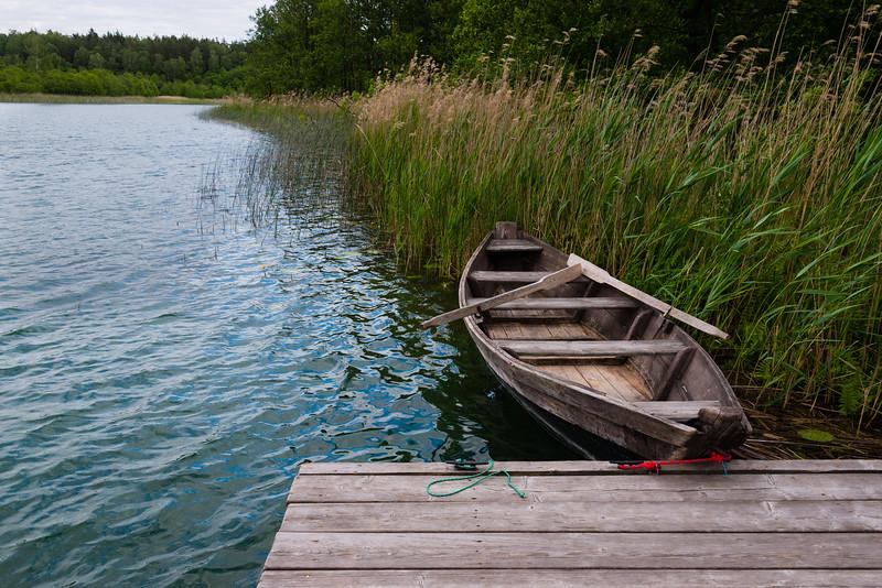 Row boat, Suwałki