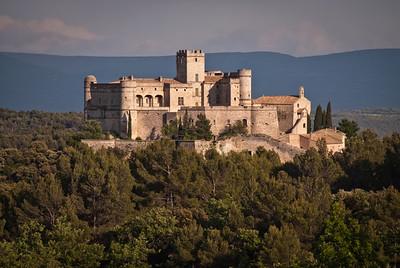 Le Chateau du Barroux at Le Barroux, Vaucluse