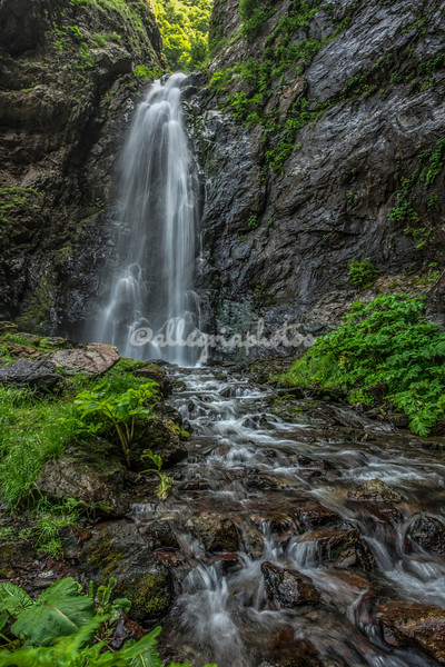 Kazbegi Waterfall
