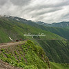 The road from Omalo, Tusheti