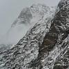 View of mountain at seaside, Lofoten, Nordland, Norway