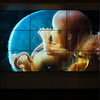 Photograph showing human fetus, Fotografiska, The Swedish Museum of Photography, Sodermalm, Stockholm, Sweden