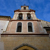 Low angle view of Church of San Bartolome, Seville, Seville Province, Spain