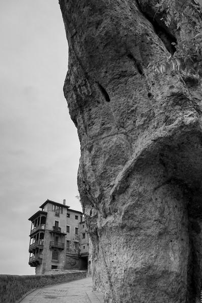 The famous Hanging Houses of Cuenca, Cuenca Province, Castilla La Mancha, Spain
