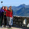 Family taking selfie, Cazorla, Jaen Province, Spain