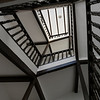 Low angle view of staircases, �beda, Jaen Province, Spain