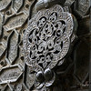 Close-up of door knocker at Great Mosque of Cordoba, Cordoba, Cordoba Province, Andalusia, Spain