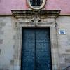Fa�ade of Convento De Las Petras, Cuenca, Cuenca Province, Castilla La Mancha, Spain
