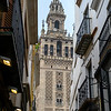 Giralda Bell Tower of Seville Cathedral, Seville, Seville Province, Spain