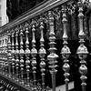 Close-up of railing of Great Mosque of Cordoba, Cordoba, Cordoba Province, Andalusia, Spain