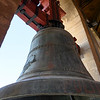 Close-up of a bell of a tower, Andalusia, Spain
