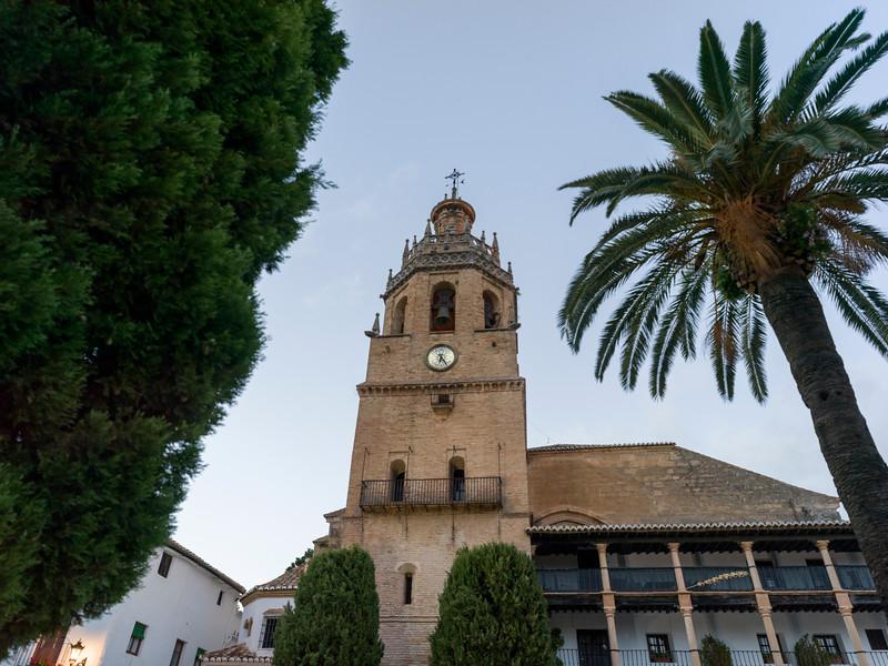 Bell tower of Santa Maria La Mayor, Ronda, Malaga Province, Spain