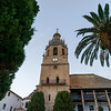 Bell tower of Santa Maria La Mayor, Ronda, Malaga Province, Spain