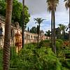 Garden of Alcazar Palace, Plaza De Espana, Seville, Seville Province, Spain