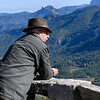 Senior man looking at view, Cazorla, Jaen Province, Spain
