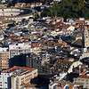 View of crowded city, Cadiz, Province of Cadiz, Spain