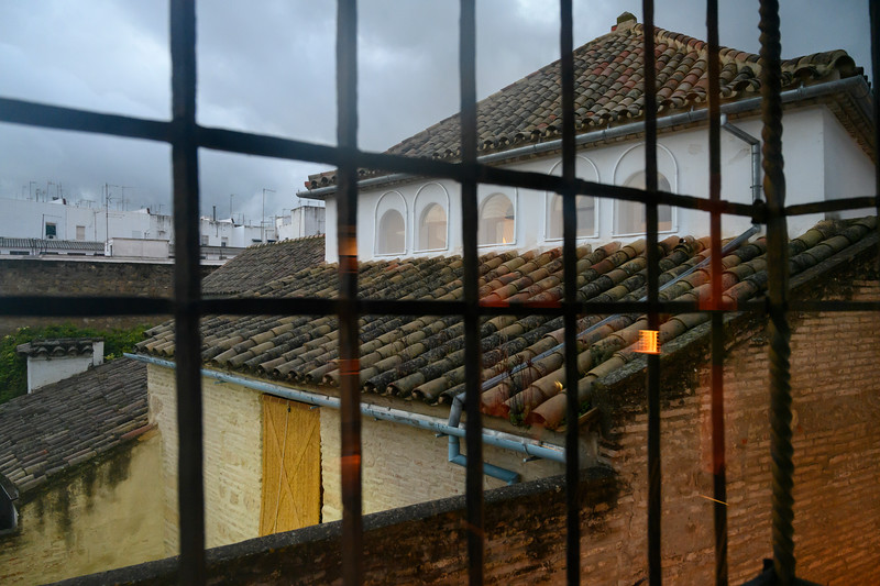 Old Jewish quarter seen from window, District Centro, C�rdoba, C�rdoba Province, Spain