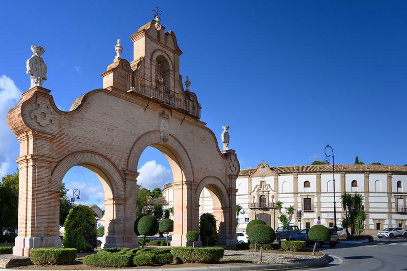Entrance to Antequera, M�laga, Spain