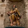 Jesus Christ statue, Cuenca Cathedral, Cuenca, Cuenca Province, Castilla La Mancha, Spain