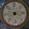 Ceiling of a cathedral, Cuenca Cathedral, Cuenca, Cuenca Province, Castilla La Mancha, Spain