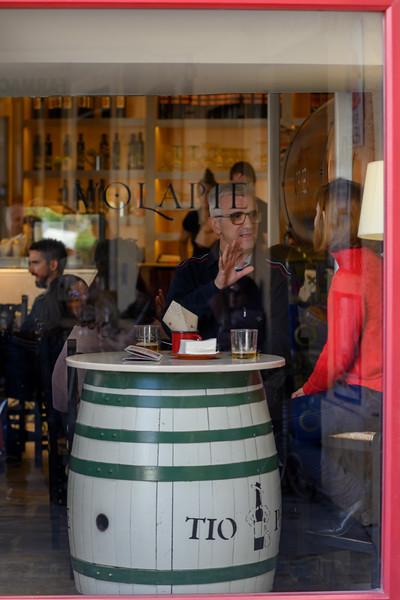 People in a bar, Ubeda, Jaen Province, Spain
