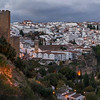 Overview of houses in a town, Ronda, Malaga Province, Spain