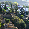 Elevated view of houses, Ronda, Malaga Province, Spain
