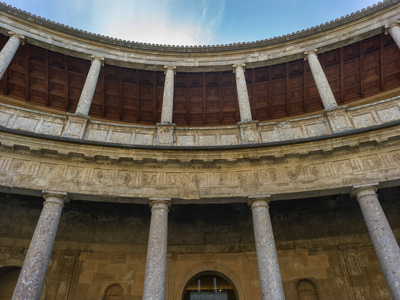 Palace of Charles V, Alhambra Palace, Alhambra, Granada, Spain