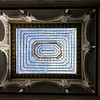 Low angle view of ceiling of a palace, Alcazar Palace, Plaza De Espana, Seville, Seville Province, Spain