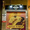 Barber shop, Albolote, Granada Province, Spain