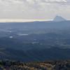 Scenic view of landscape, Gaucin, Malaga Province, Spain