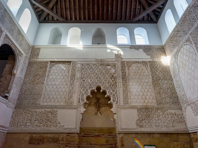 Interiors of C�rdoba Synagogue, Distrito Centro, C�rdoba, C�rdoba Province, Spain