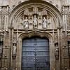 Facade of Great Mosque of Cordoba, Cordoba, Cordoba Province, Andalusia, Spain