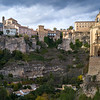 View of hotel and cathedral, Parador Nacional Of Cuenca, Cuenca, Cuenca Province, Castilla La Mancha, Spain