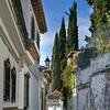 Houses in a town, Granada, Granada Province, Spain