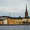 Buildings at waterfront, Gamla Stan, Stockholm, Sweden