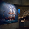 Low angle view of historic Vasa warship at Vasa Museum, Stockholm, Sweden