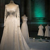 Wedding dress of Princess Sofia of Sweden in Royal Palace, Gamla Stan, Stockholm, Sweden