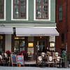Facade of restaurant, Stortorget, Gamla Stan, Stockholm, Sweden