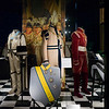 Royal dress and medals in exhibition at Royal Palace, Slottskyrkan, Stockholm, Sweden