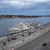 Passenger boat at harbor, Saltsjon, Stockholm, Sweden