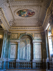 Interiors of Royal Palace, Slottskyrkan, Stockholm, Sweden